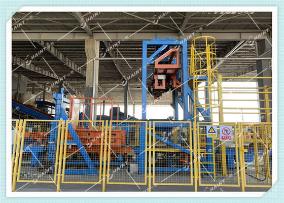 Fire Resistant Material Pulper Machine Paper Mill With Conveyor System