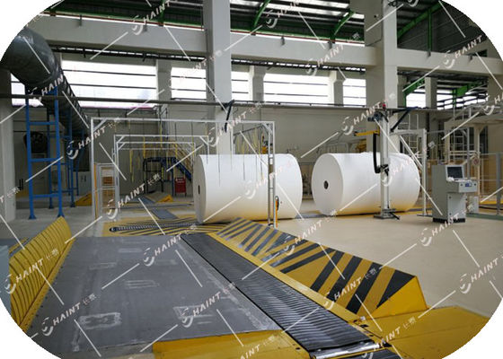 Auto Tissue Roll Handling & Wrapping System CE