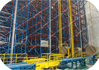 Steel Material Automatic Storage Retrieval System Intelligent Management Labour Saving