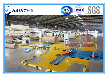 China Industrielle Wellpapp- und Rollenverladesysteme 18 M/minimale nagelneue Zustand usine